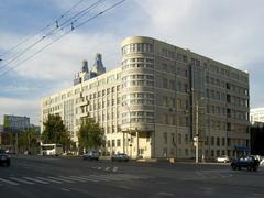 Здание Правительства Новосибирской области